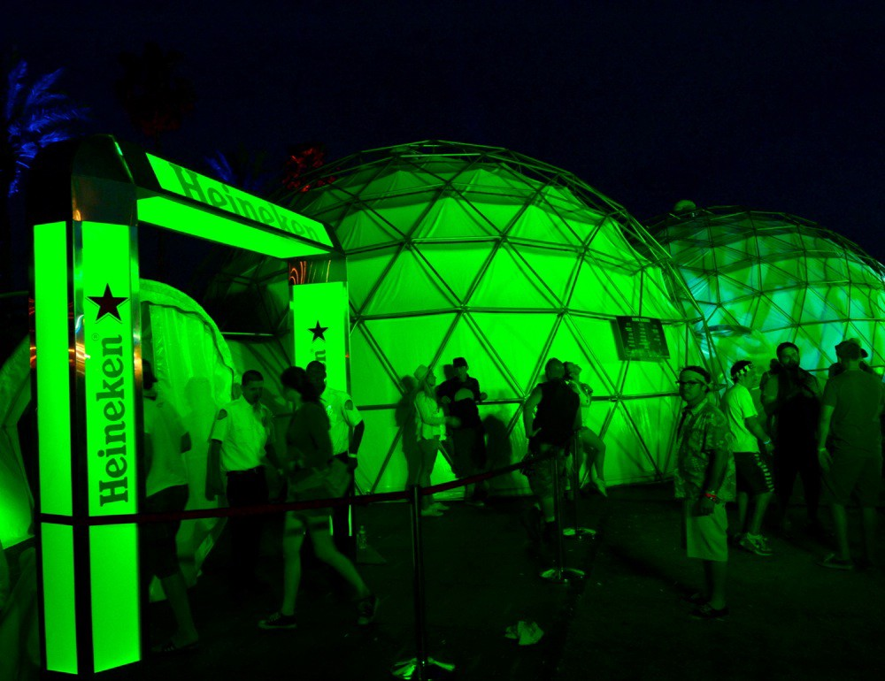 Heineken House at Coachella
